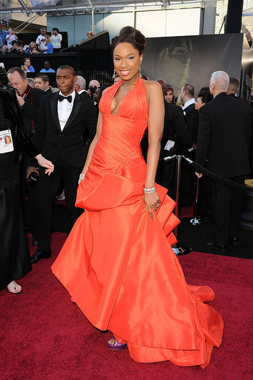 Jennifer Hudson Shows Off Her Svelte Shape in Atelier Versace