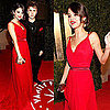 Selena Gomez in Dolce &amp; Gabbana and Justin Bieber at Vanity Fair Oscars Party 2011