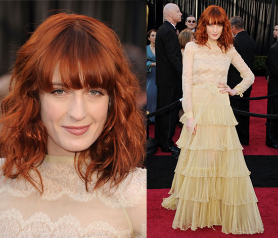 Florence Welch in Valentino at Oscars 2011