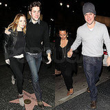Pictures of Matt Damon and Luciana Damon on a Date With John Krasinski and Emily Blunt