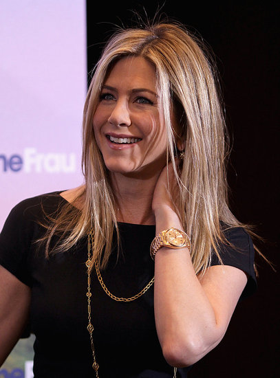 Jennifer Aniston Brings Just Go With It to Berlin With Brooklyn and Adam!
