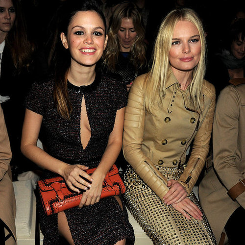 Pictures of Kate Bosworth and Rachel Bilson at the Burberry Fashion Show