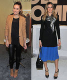 Pictures of Sarah Jessica Parker and Lauren Conrad at ENK Fashion Coterie in NYC 2011-02-21 07:18:28