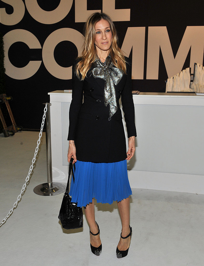 Lauren Conrad Shows Off Paper Crown in NYC With Sarah Jessica Parker