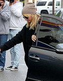 Nicole Richie Brightens Up a Gloomy Day at the Gym