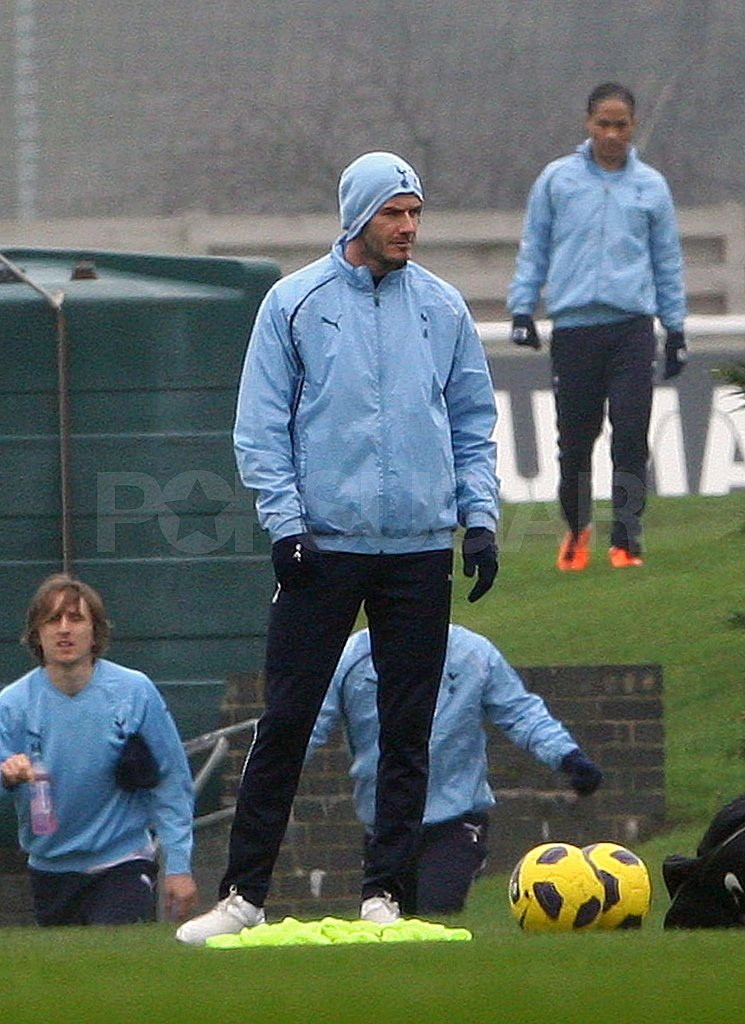 David Beckham Kicks Off a New Soccer Start and Reportedly Nabs a Royal Invite