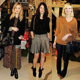 Pictures of London Fashion Week Front Rows and Parties Including Fearne Cotton, Gemma Arterton, Kirsten Dunst at Mulberry
