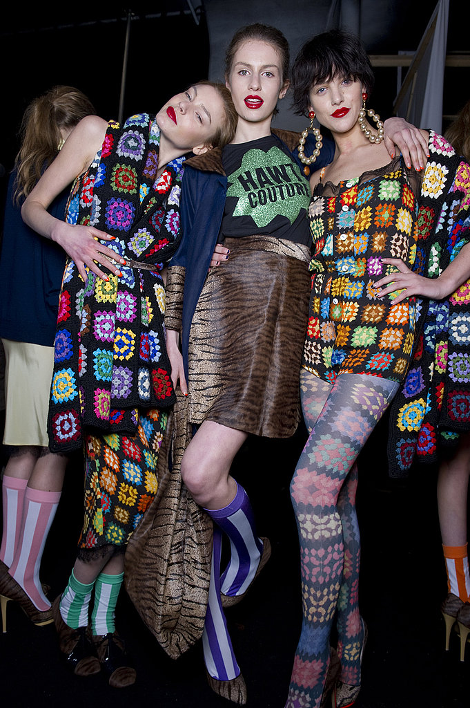 Fall 2011 London Fashion Week Backstage Photos