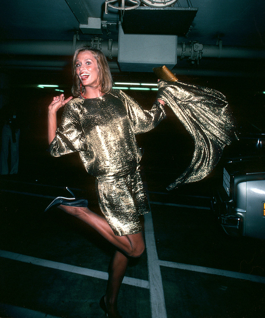 Lauren Hutton at the 1980 Academy Awards