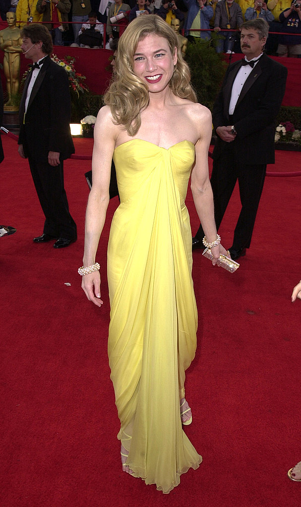 Renée Zellweger at the 2001 Academy Awards