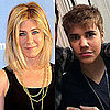 Justin Bieber and Jennifer Aniston New Haircuts