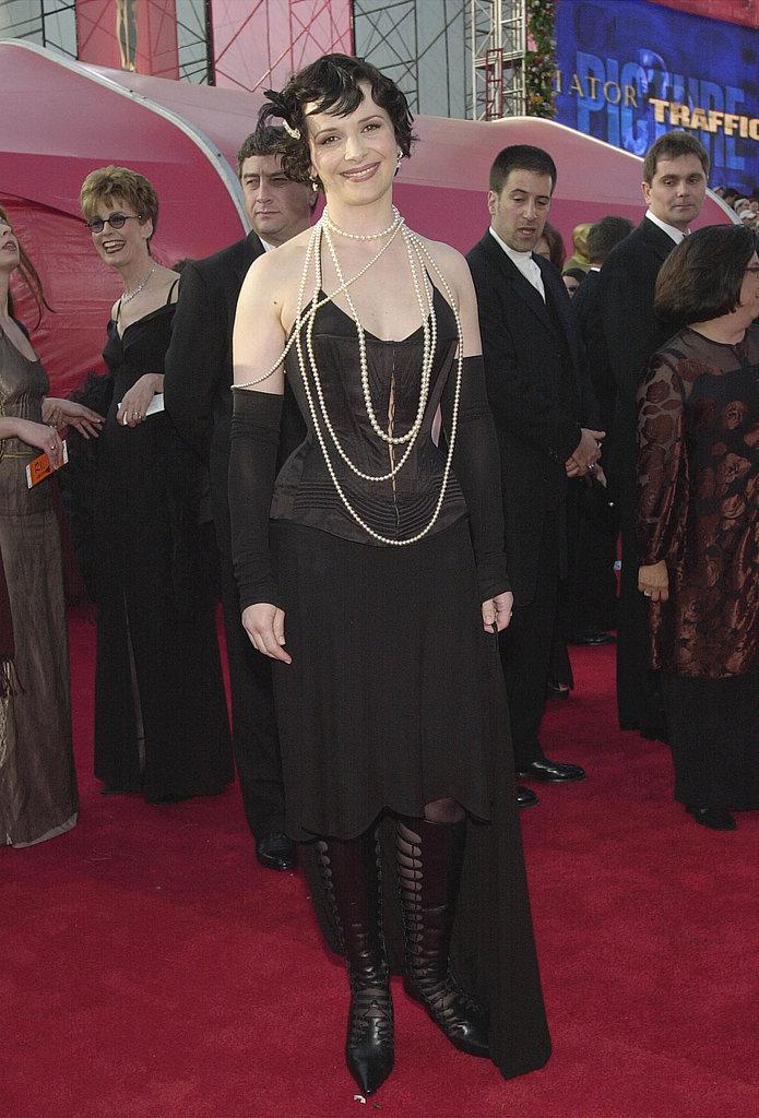 Juliette Binoche, 2001