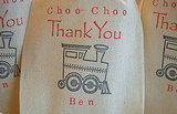 Choo Choo Thank You Bags