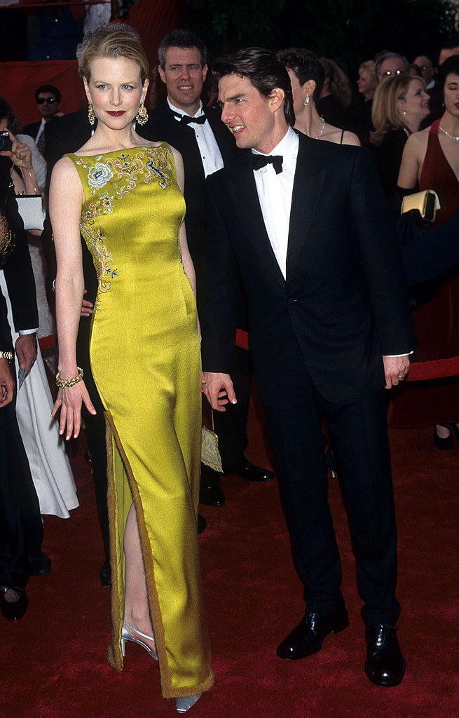 Nicole Kidman made waves when she wore a chartreuse dress from John Galliano's first Christian Dior Couture collection to the 1997 Academy Awards.