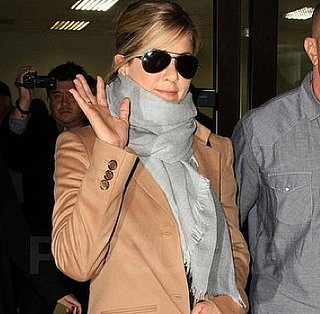 Pictures of Jennifer Aniston Arriving Back at LAX