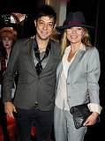 Kate Moss Celebrates Menswear During London Fashion Week With Jamie Hince