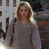 Nicole Richie Chooses a Smoky Eye For Her Day Date