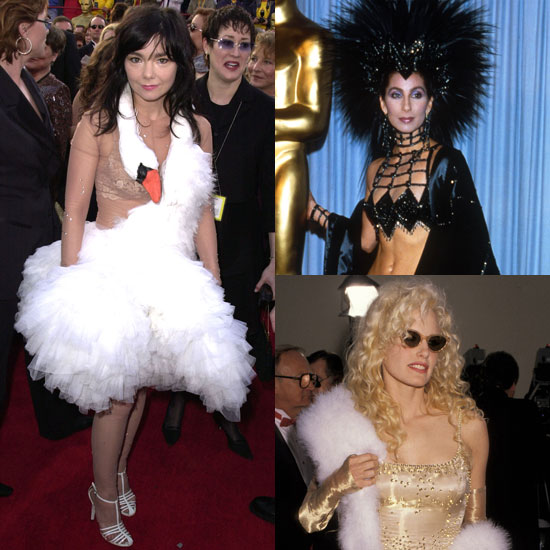 50 Outrageous Moments in Oscar Fashion