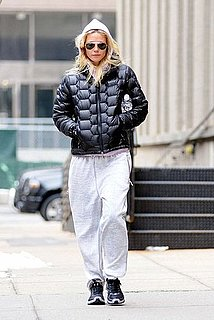 Pictures of Gwyneth Paltrow Going to the Gym in NYC