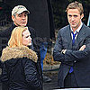 Pictures of George Clooney on the Set of The Ides of March in Cincinnati With Ryan Gosling and Evan Rachel Wood