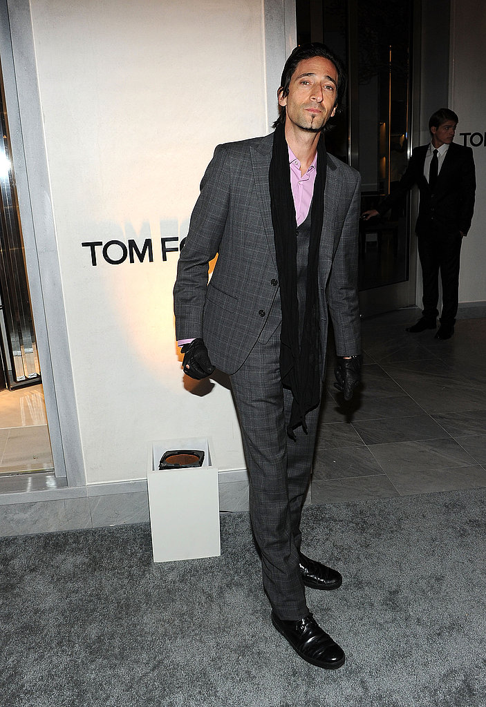 Alex, Colin, Rachel, and More Turn Out to Toast Tom Ford's New Store