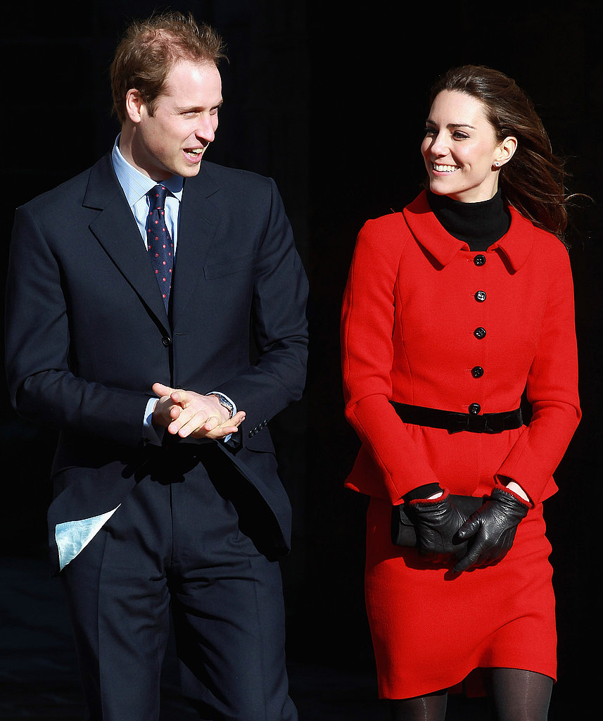 Prince William and Kate Middleton Head Back to St. Andrew's Together