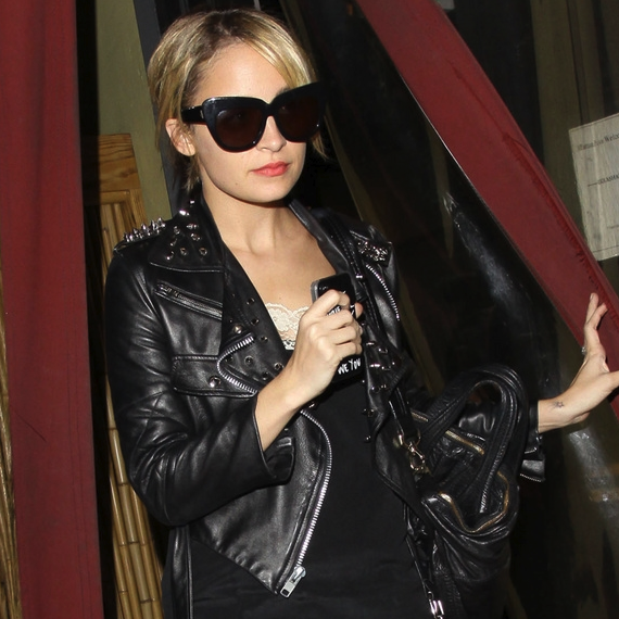Pictures of Joel Madden and Nicole Richie Leaving Matsuhisa