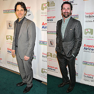 Pictures of Paul Rudd and Jon Hamm at the Oscar Wilde: Honoring the Irish in Film Pre-Oscar Party