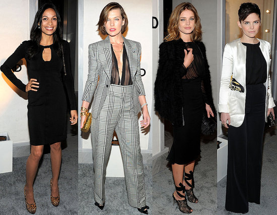 Hollywood's Style Crowd Toasts Tom Ford — Who's Most Fab?