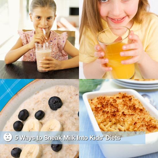 5 Ways to Sneak Milk Into Kids Diets