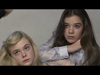 Elle Fanning and Heilee Steinfeld's Behind The Scenes Vanity Fair Shoot Video