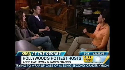 Video: James Franco Gets Anne Hathaway to Reveal Her Baby Plans