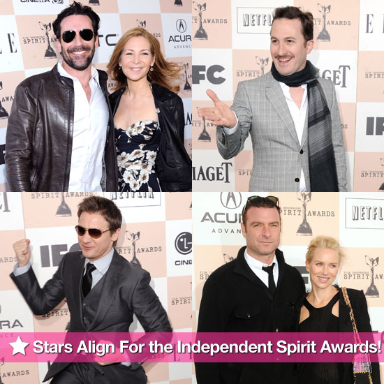 Jon Hamm, Naomi Watts, Jeremy Renner, and More Kick Off the Independent Spirit Awards!