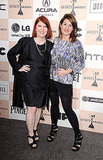 Kate Flannery and Nia Vardalos