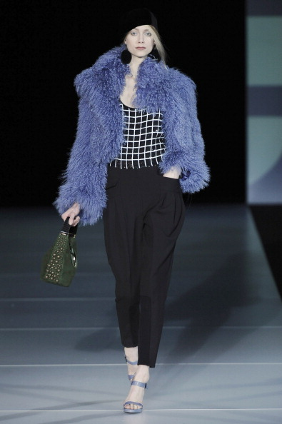 Fall 2011 Milan Fashion Week: Emporio Armani