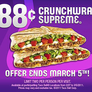 Taco Bell Defends Beef With Discounted Crunchwraps
