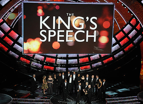 The King's Speech Wins the 2011 Oscar For Best Picture 2011-02-27 20:36:17