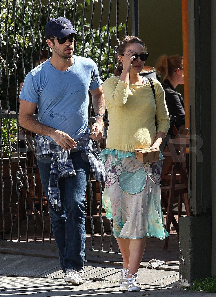 Natalie Portman and Benjamin Millepied Celebrate Her Oscars Win at Brunch