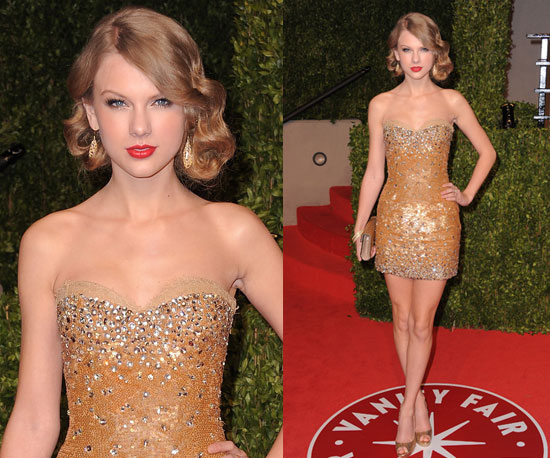 Taylor Swift at Oscars 2011