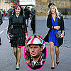 Pictures of Chelsy Davy and Pippa Middleton at Lady Katie Percy&#039;s Wedding, Prince Harry and Zara Phillips at Six Nations Rugby