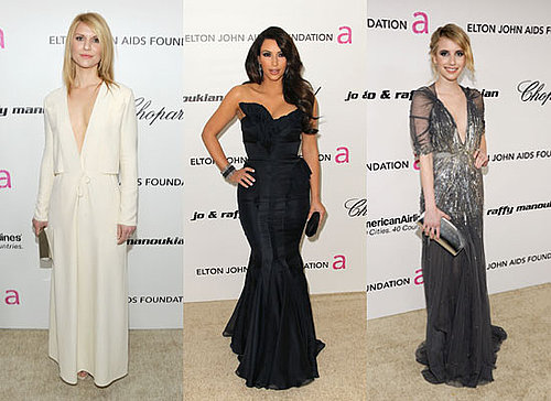Photos Of Celebrities at Elton John AIDS Foundation's Oscar Viewing Party 2011 including Claire Danes and Emma Roberts