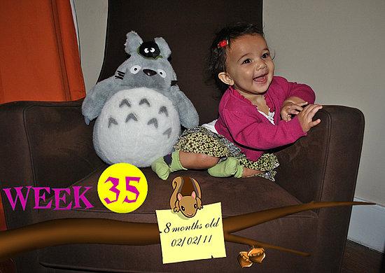 Olivia Lily 35 Weeks Old!!