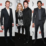 Pictures of Anna Paquin, Stephen Moyer, Ryan Kwanten, Alexander Skarsgard, and Joe Manganiello Talking True Blood 2011-03-07 00:35:45