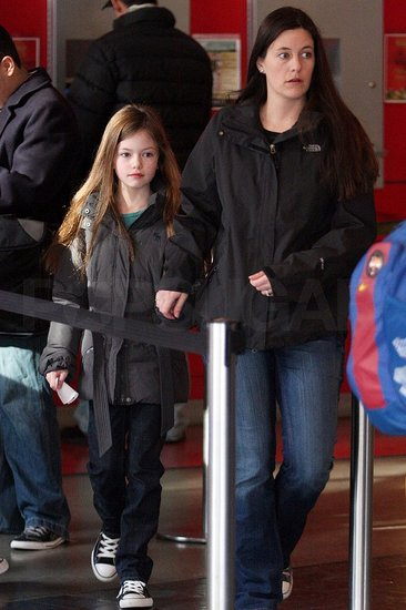 Mackenzie Foy Has an Afternoon Off From Breaking Dawn to Take In a Movie