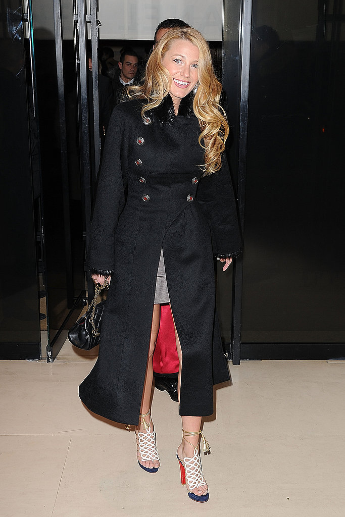 Blake Lively Celebrates Finally Snagging Her Chanel Job With Another Dinner in Paris
