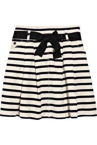 Sonia by Sonia Rykiel - Striped cotton-jersey skirt