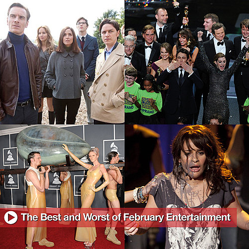 Best and Worst of February Entertainment, Including the Oscars, Grammys, and More