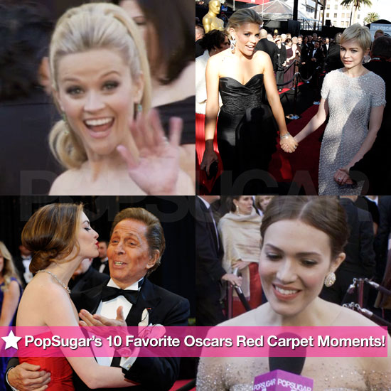 PopSugar's 10 Favorite Oscars Red Carpet Moments!