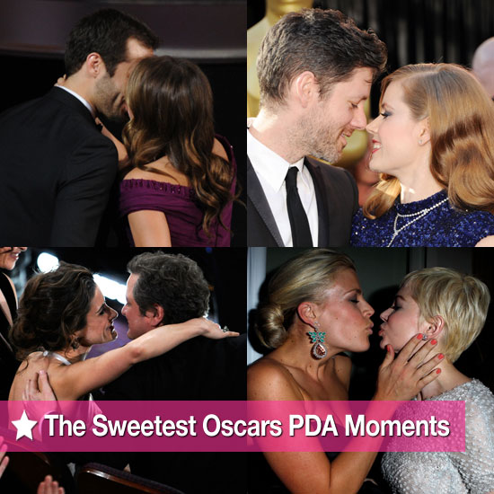 See the Sweetest Celebrity PDA Moments at the 2011 Oscars!