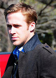 Ryan Gosling Spends His Afternoon With George Clooney, Not Olivia Wilde